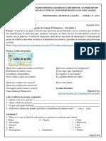 portugues e matematica
