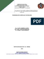 PLAN DE ESTUDIO  AREA DE RELIGIÓN_2014