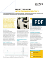 Intertek Fact Sheet Nitrosamine Impurity Analysis ARB Medicines