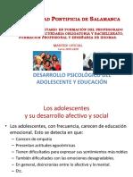 POWERPOINT. Desarrollo psicológico y educación del adolescente