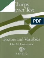 charpy impact test - stp 1072