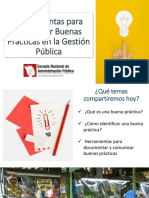 Herramientas para identificar Buenas Prácticas en la Gestión Pública