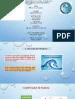Fluidos en movimiento y clasificacion