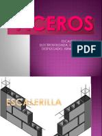 ACEROS-escalerillas,malla electrosoldada, estribos, metal desplegado, armex, alambron