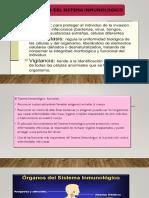 FUNCIONES DEL SISTEMA INMUNOLOGICO (1)