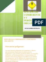 SUSTANCIAS COMBURENTES Y PERÓXIDOS ORGANICOS