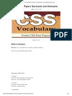 Css Past Papers Synonyms and Antonyms - Naya Pakistan News Forum.pdf