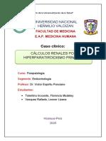 calculos renales por hiperparatiroidismo primario-caso clinico
