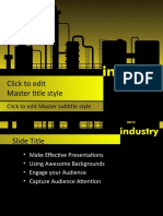 10363 Manufacturing Industry Ppt Template 0001