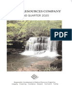 Pardee Resources PDER Q2 2020 Report