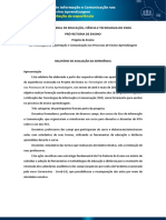 Relatório do Projeto de Ensino Sobre TICs
