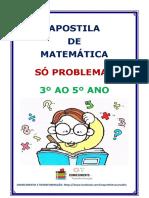 apostila problemas matematica