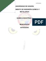 MONOGRAFIA NITROGENO0