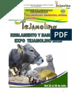 Reglamento feria Tejamolino 2015