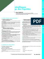[BM 6 593] Rservoirs mtalliques pour stockage des liquides FICHE DOCUMENTAIRE.pdf