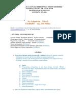 Fisica I  3ra asignacion. Unidad II 2020-III
