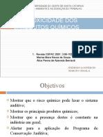 OTOTOXICIDADE DE PRODUTOS QUIMICOS.ppt