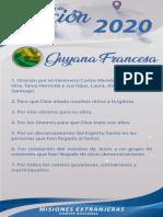 Peticiones mes De septiembre 2020 Alemania Guatemala Israel Guyana