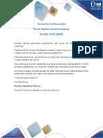 Instructivo Inicial Álgebra Lineal E-Learning