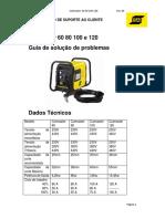Roteiro de testes padrão Cutmaster 60 80 100 120  Rev 01