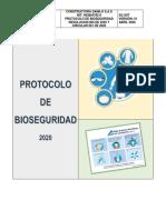 Protocolo de bioseguridad Constructora Danilo S