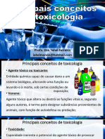 Aula de Toxicologia - Nomenclatura
