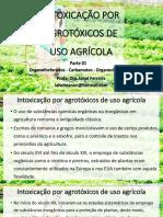 Aula de Toxicologia - Uso de inseticidas agricolas