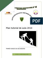 Plan tutorial de aula 2010