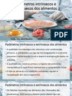 Aula 02 Microbiologia de Alimentos