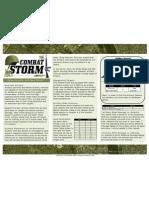 combat storm artillery rules