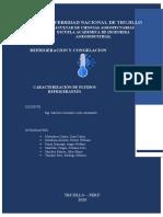 CARACTERISTICAS DE FLUIDOS REFRIGERANTES (1)