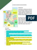 POLITICAS PÚBLICAS ECONÓMICAS EN ZONA FRONTERIZA.