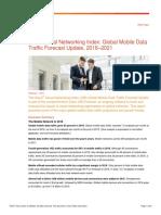 Informe Cisco Visual Networking Index (VNI) sobre Tráfico Global de Datos Móviles 2015-2020