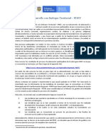 19 Programa de Desarrollo con Enfoque Territorial -PDET