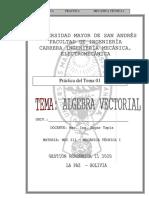 [Template] prac algebra vectorial 2020 02