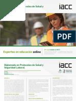 Diplomado en Protocolos de Salud y Seguridad Laboral