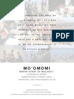 Mo'omomi CBSFA Proposal