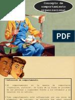 1a.-CONCEPTO DE COMPORTAMIENTO ORGANIZACIONAL