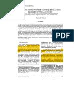 [Krasner] Causas estruturais e consequ�ncias dos regimes internacionais