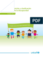 2. Definición y clasificación de la discapacidad