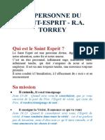 LA PERSONNE DU SAINT-ESPRIT R.A.TORREY