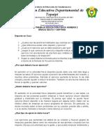 GUIA DE TRABAJO EDUCACIÓN FISICA NÚMERO 2