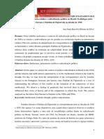 BARCELOS, Ana Paula. Pensamento Católico e Radicalização Política