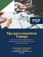 Tips Empleabilidad - Ana María Gutierrez