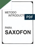 saxofon practico