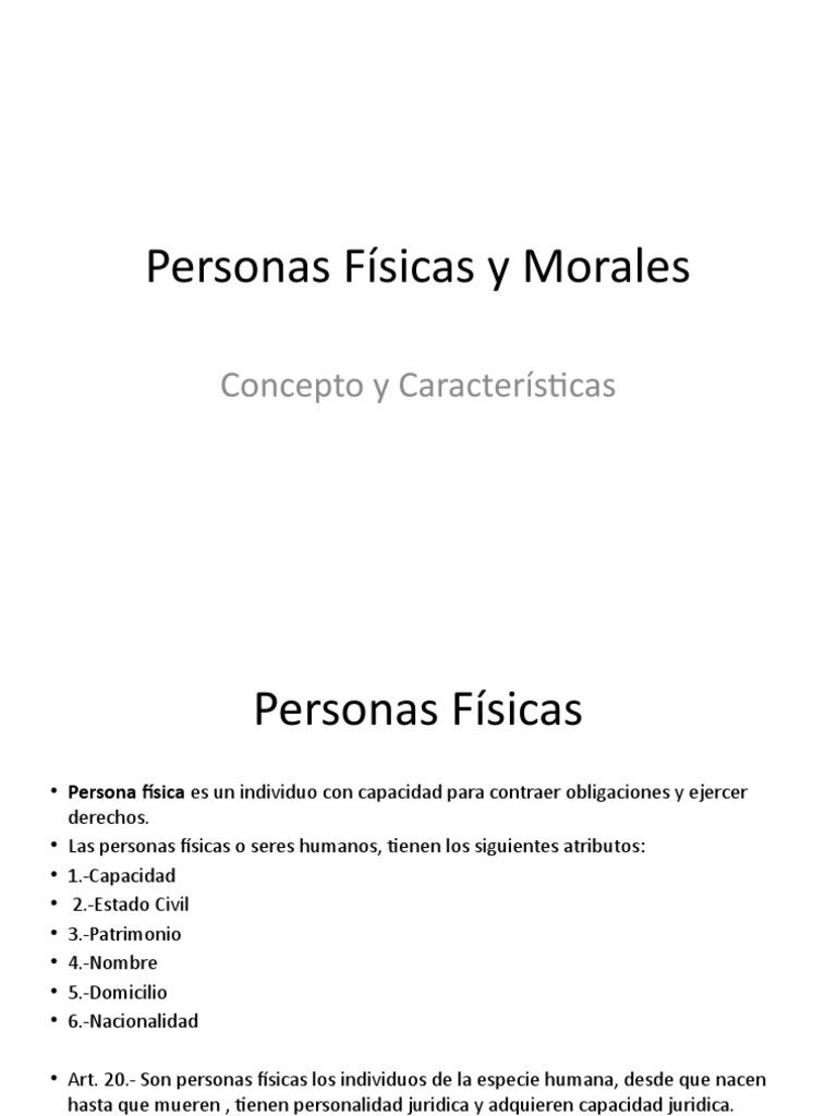 294dac503ef2 Personas Físicas y Morales