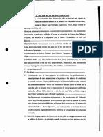 Declaración de Gilberto Vázquez ante el Tribunal de Honor para Oficiales Superiores No.1
