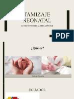 Tamizaje neonatal presentación...pptx