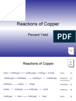 Reactions of Copper Experiment 6