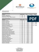 Lista de precios 01-07-2020